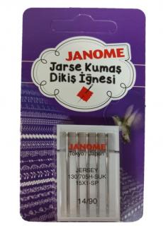 Janome 14 Numara Jersey İğne 130/705 JERSEY - 90 / 14