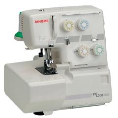 JANOME - Janome 204D Taşınabilir Overlok Makinası