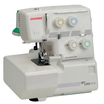 Janome 204D Taşınabilir Overlok Makinası