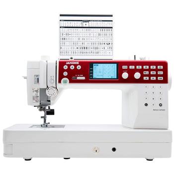 Janome MC6650 Taşınabilir Elektronik Dikiş Nakış Makinası